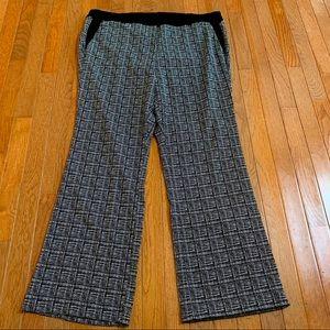 GUC - Lane Bryant - B&W Elastic Dress Pants - 24